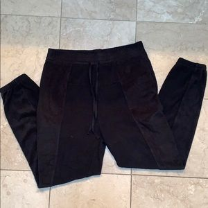 Free People Fleece Joggers NWOT